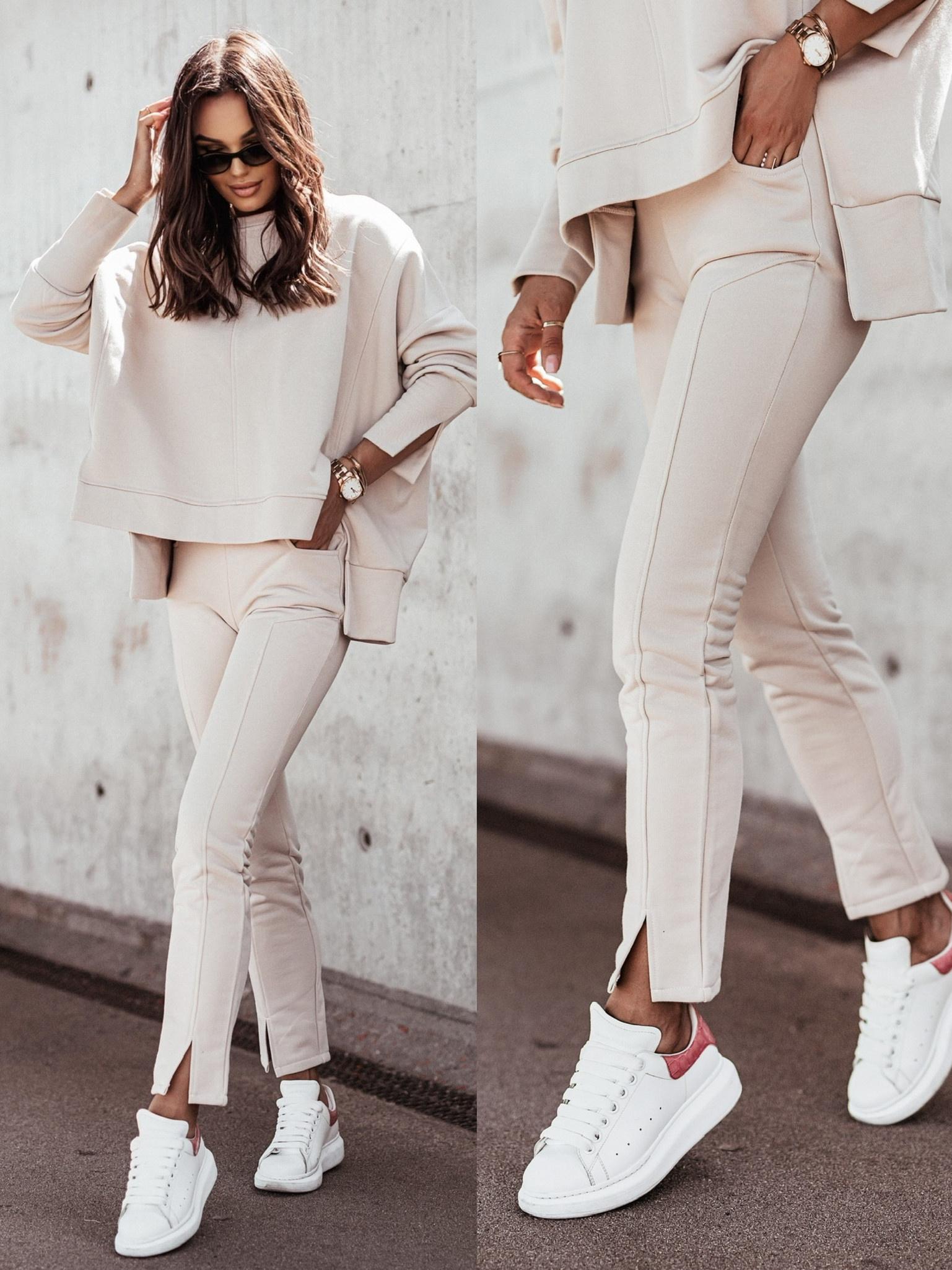 Spodnie San Salvo beige