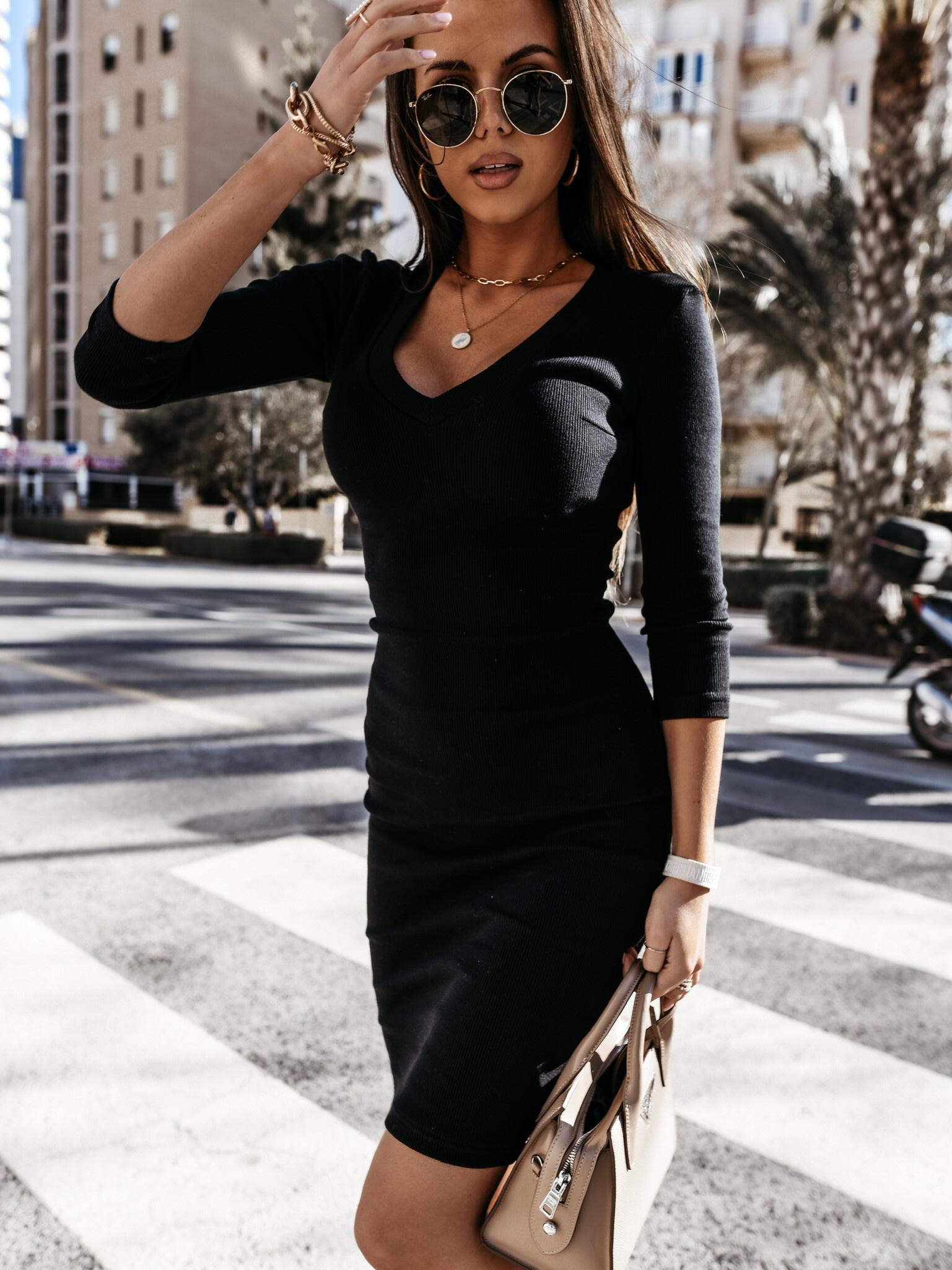 Sukienka Kaya V black