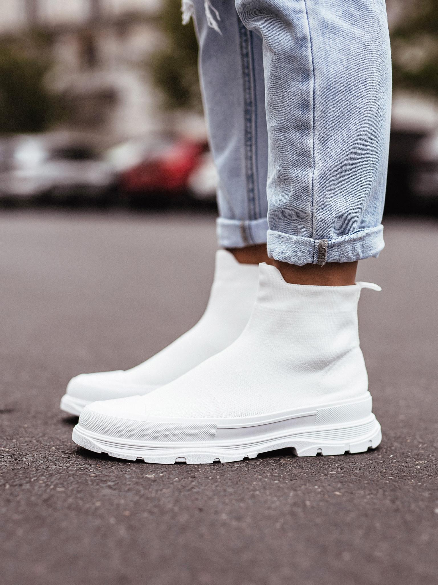 Adidasy Miles white