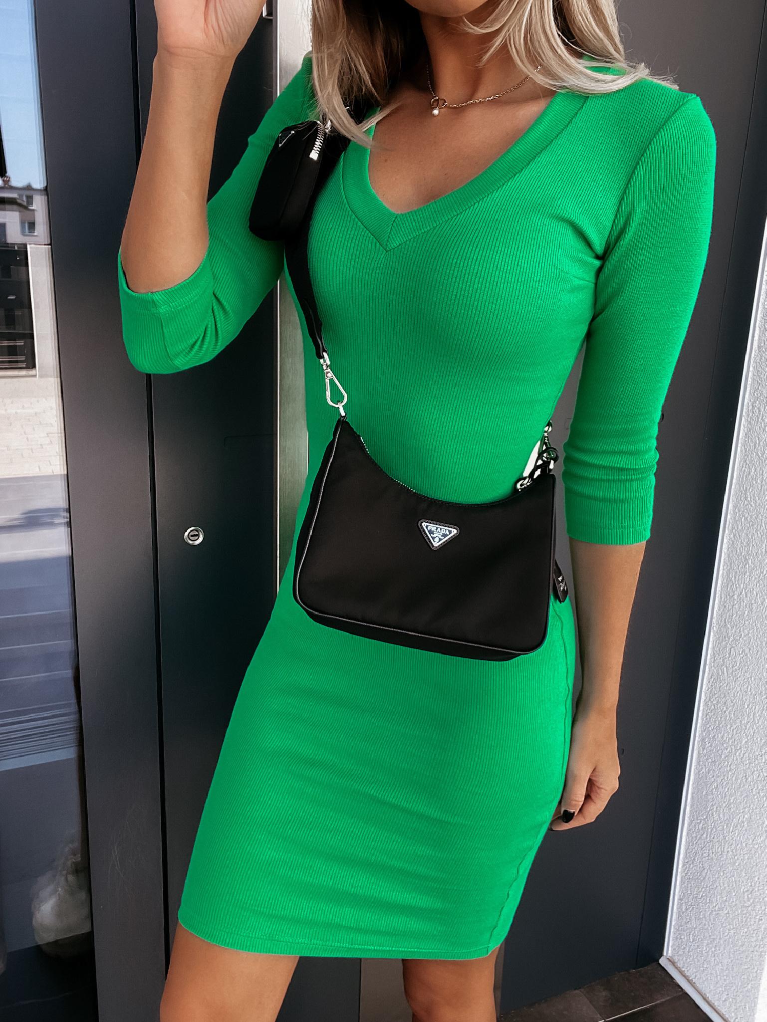 Sukienka Kaya V green