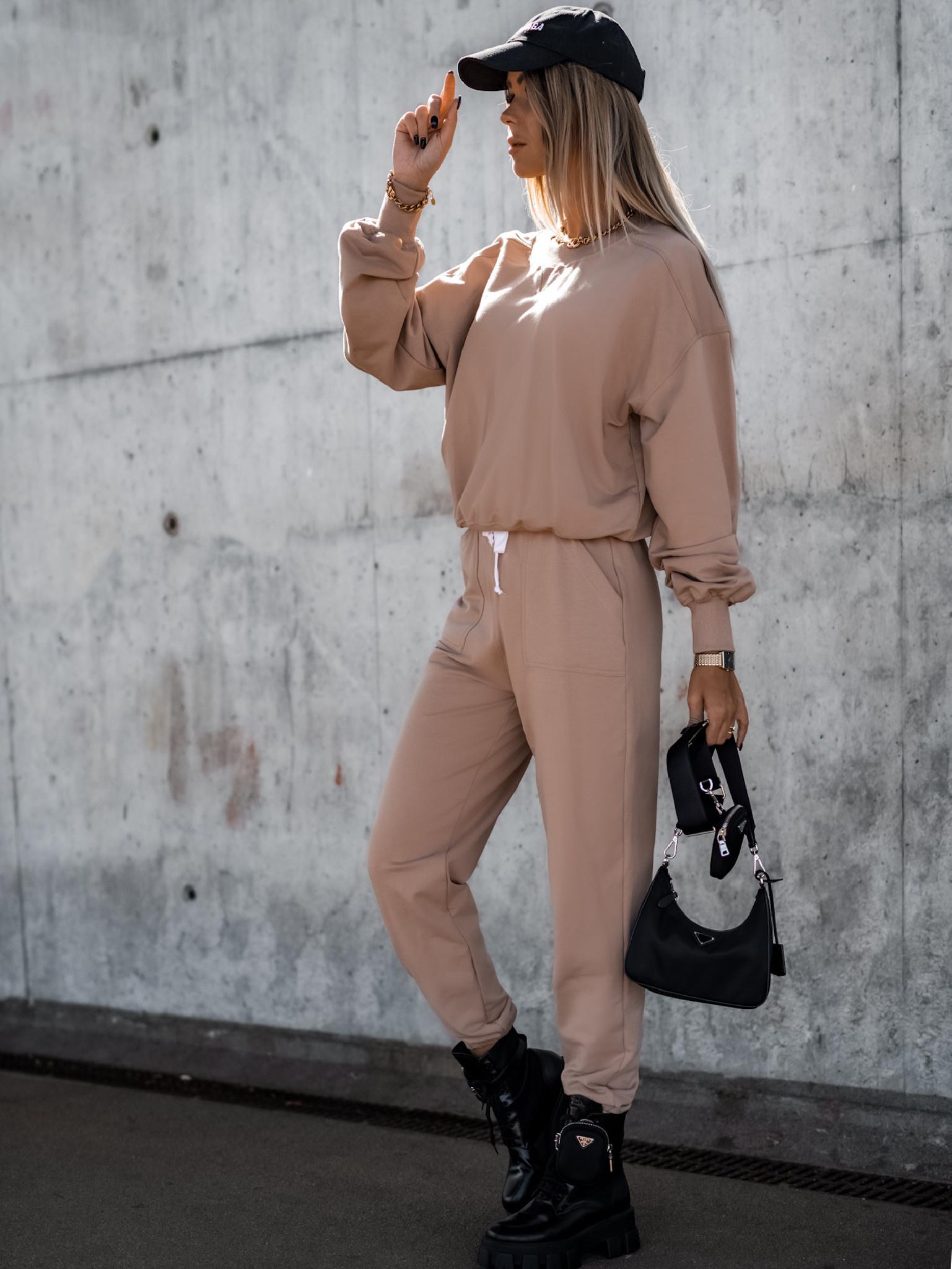Spodnie Balance by Varlesca light camel